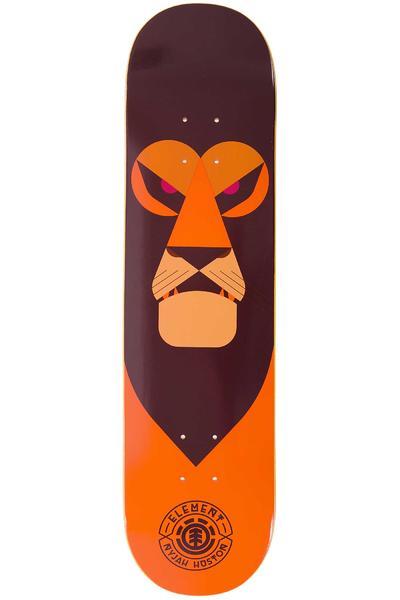 "Element Nyjah Segment 7.75"" Deck (brown orange)"