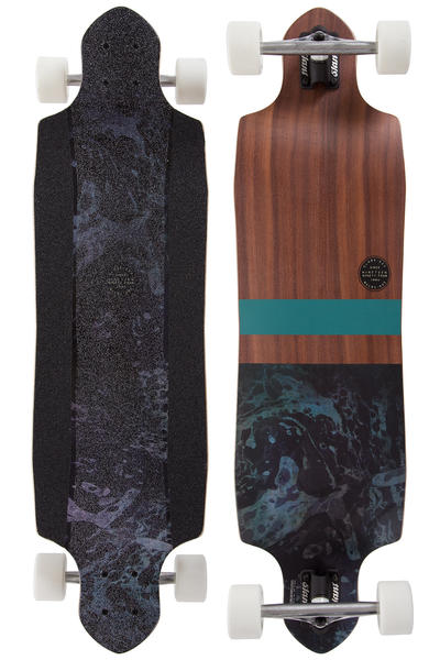 "Globe Geminon Micro-Drop 37.5"" (95cm) Complete-Longboard (rosewood black)"