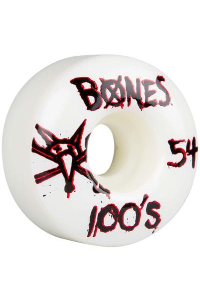 Bones 100's-OG #14 Slim 54mm Wheel (white) 4 Pack