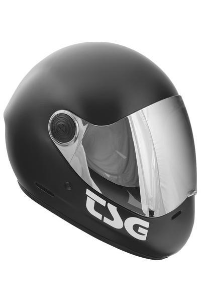TSG Pass Solid Color Helmet (satin black)