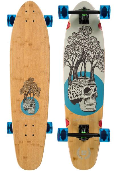 "Landyachtz Bamboo Ripper Tree Skull 37"" (94cm) Complete-Longboard"