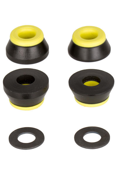 Bones 91A Hardcore-Medium Bushings inkl. Washer (black yellow)