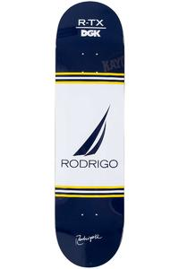 """DGK Skateboards Rodrigo TX 1994 8.125"""" Deck (blue white)"""