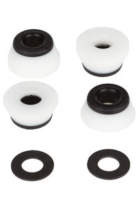 Bones 96A Hardcore-Hard Lenkgummi inkl. Washer (white black)