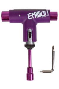 EMillion x Silver Spectrum Skate-Tool (purple white)