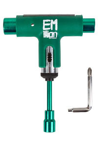 EMillion x Silver Spectrum Skate-Tool (green white)