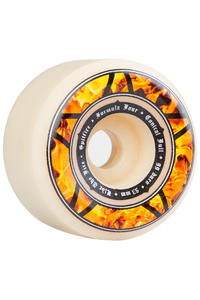 Spitfire Formula Four Conical Full Hellfire 53mm Rollen (white) 4er Pack