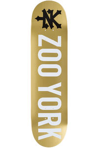 """Zoo York Photo Incentive 7.75"""" Deck (gold)"""