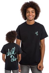 CHILL OR DIE OG Logo T-Shirt (black mint)