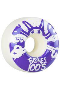Bones 100's-OG #15 55mm Rollen (white purple) 4er Pack