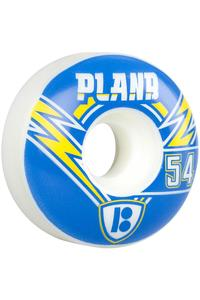 Plan B Team Charged 54mm Rollen (white) 4er Pack