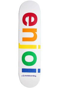 "Enjoi Spectrum R7 7.625"" Deck (white)"