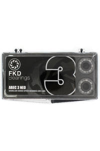 FKD Compact ABEC 3 Kugellager (silver)