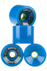 Hawgs Monster 76mm 78A Wheel 2016 (blue) 4 Pack