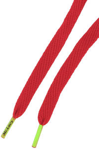Mr. Lacy Flatties Laces (red neon green)