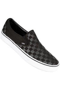 Vans Classic Slip On Checkerboard Schuh (black black)