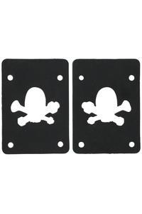 MOB Skateboards Skull Logo 2mm soft Pad (black) 2er Pack
