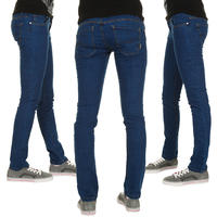 REELL Skintight Nina Jeans women (colored blue)