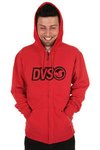 DVS Revolution Zip-Hoodie (red)