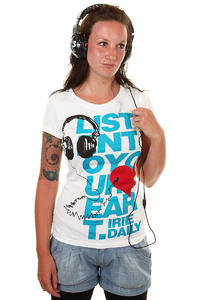 Iriedaily 2 Your Heart T-Shirt women (white)