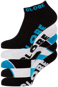 Globe Destroyer Ankle Socken US 7-11 (black) 5er Pack