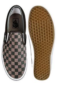 Vans Classic Slip-On Shoe (black pewter checkerboard)