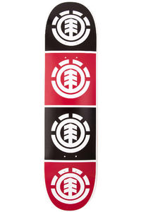 "Element Team Quadrant 8"" Deck (black red)"