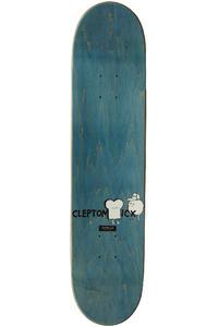 "Cleptomanicx Smile Toast 7.5"" Deck (white)"