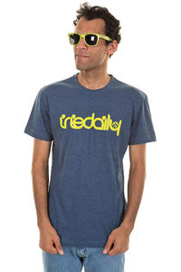 Iriedaily No Matter 4 T-Shirt (navy melange)