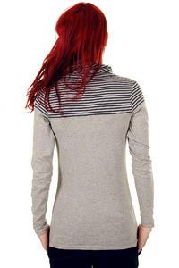 Iriedaily Chillin Stripe Longsleeve women (grey melange)