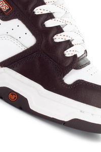 DVS Enduro Heir SMU EU Leather Schuh (brown white)