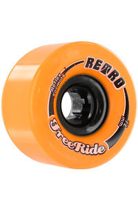 Retro Freeride 72mm 86a Rollen (orange) 4er Pack