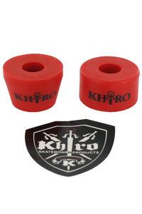 Khiro 90A Tall Cone Combo Lenkgummi (red)