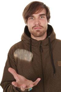 Trap Skateboards Norway Zip-Hoodie (brown black)