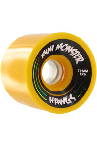 Hawgs Mini Monster 70mm 82A Rollen 4er Pack alt (yellow)