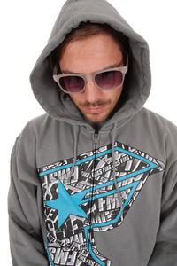 Famous FMS Zip-Hoodie (charcoal)
