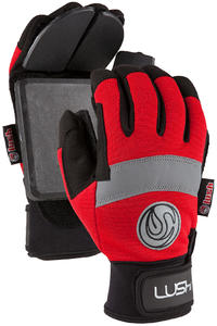 Lush Freeride Slide Gloves (red)
