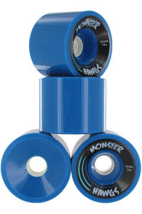 Hawgs Monster 76mm 78A Rollen 4er Pack alt (blue)