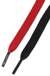 Mr. Lacy Clubbies Schnürsenkel (red black)