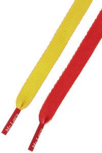 Mr. Lacy Clubbies Schnürsenkel (yellow red)