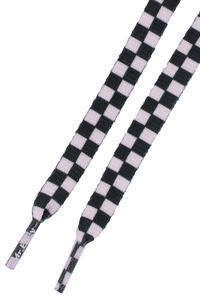 Mr. Lacy Printies Laces (black white)