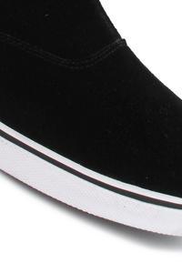 Etnies Lounge Suede Schuh women (black grey white)