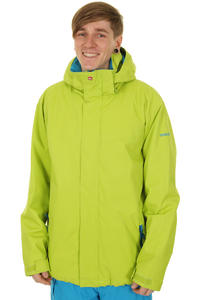 Quiksilver Last Mission Plain Snowboard Jacke (dirty lime)