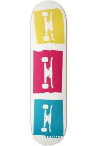 "Trap Skateboards 3 Logo CMY 7.75"" Deck (multi)"