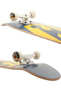 "Trap Skateboards Truck Logo C SP'11 7.75"" Complete-Board (blue yellow)"