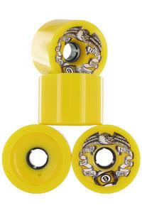 Sector 9 Race Formula 74mm 78a Rollen 4er Pack  (yellow)