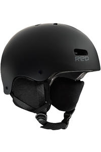 RED Trace Snow-Helm (black matte)