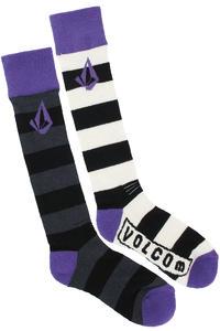 Volcom Status Coolmax Tech Socken US 4,5-10  women (purple heart)