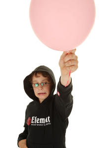 Element Horizontal Hoodie kids (black)