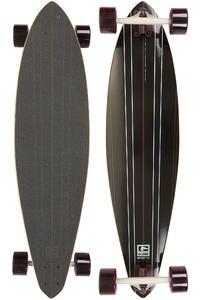 "Globe Zodiac 38"" (96,5cm) Komplett-Longboard (black burgundy)"